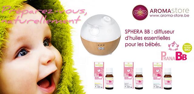 diffuseur huiles essentielles pour bébé