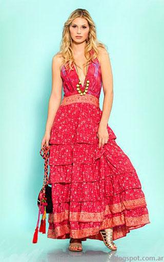 Moda 2014 Sophya verano 2014 vestidos, faldas y tops.