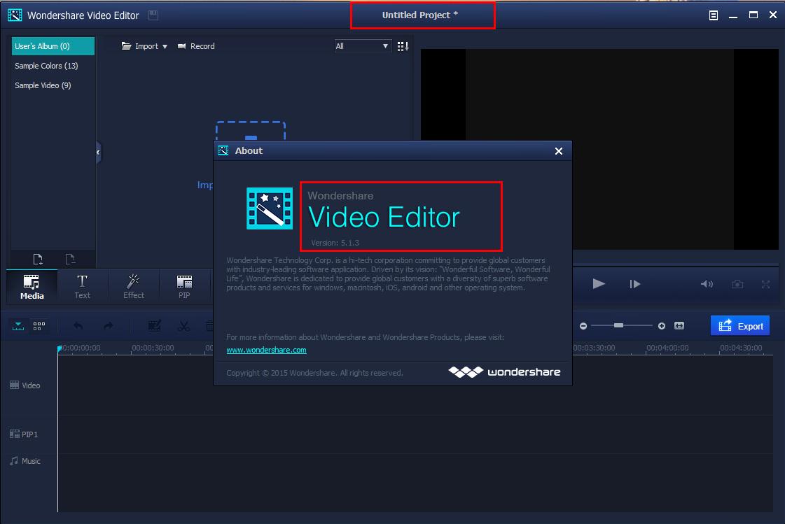 wondershare video editor 5.1 0 crack
