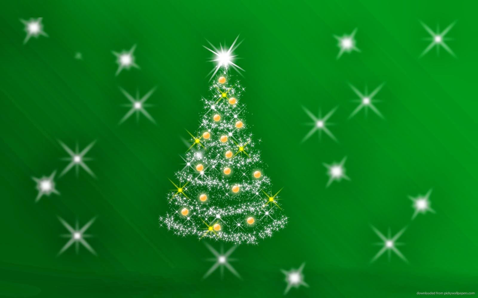 Green Christmas Background HD Wallpaper - HD Wallpapers Blog