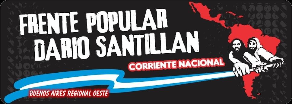 Frente Popular Darío Santillán - Oeste