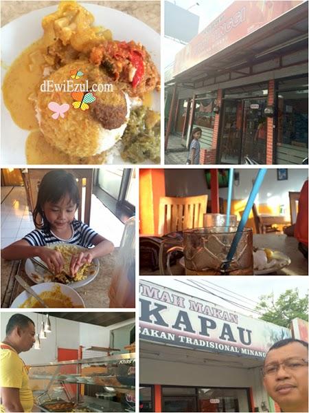 Nasi padang di Bali