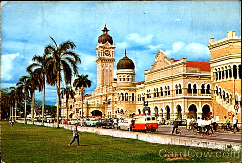 Gambar Lama Kuala Lumpur Pada Tahun 1950-an