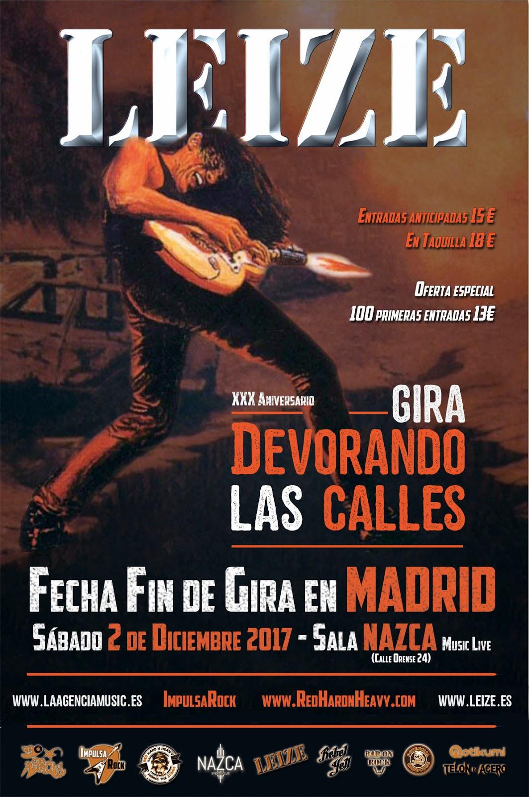 Leize en Madrid