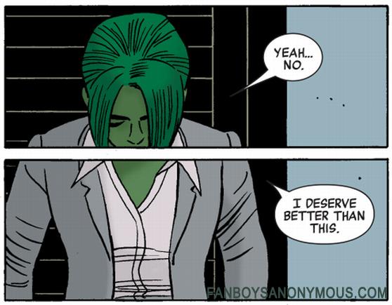 She-Hulk Panel Image Marvel Comic