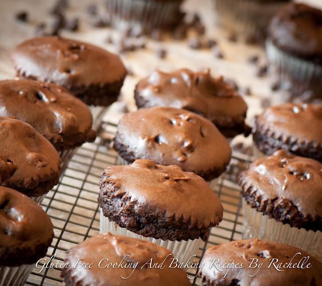 Gluten-free Dairy-free Chocolate/Chocolate Chip Muffins