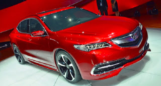 2016 acura tlx changes