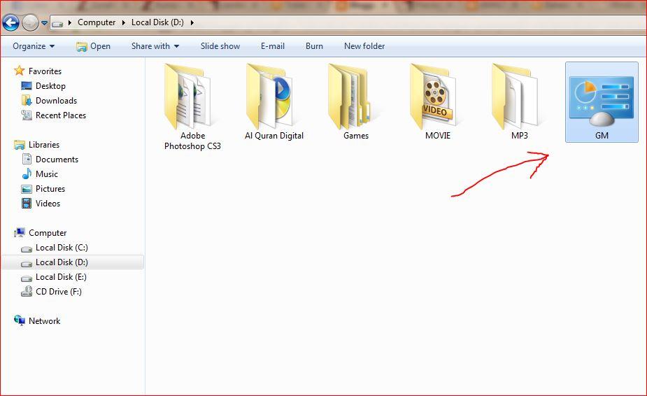 Cara Mengaktifkan Mode Tuhan dalam Windows 7