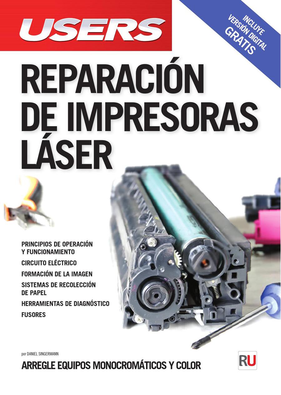 Manual Pdf Reparación Mantenimiento Impresoras Laser/ Inkjet / Matriz