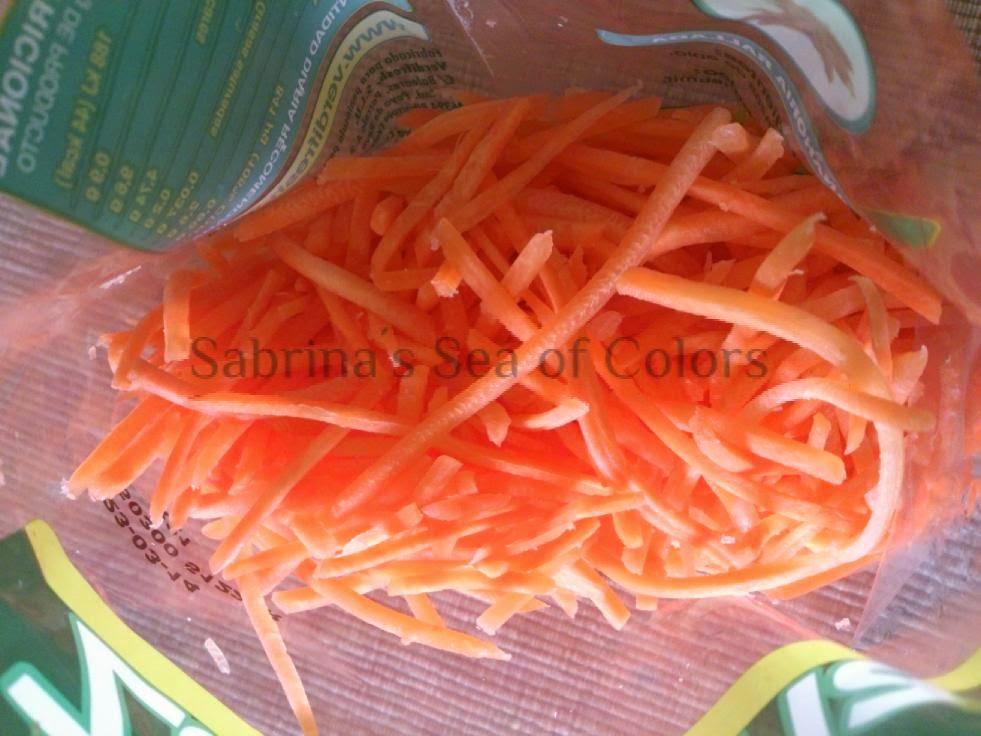 zanahoria rallada