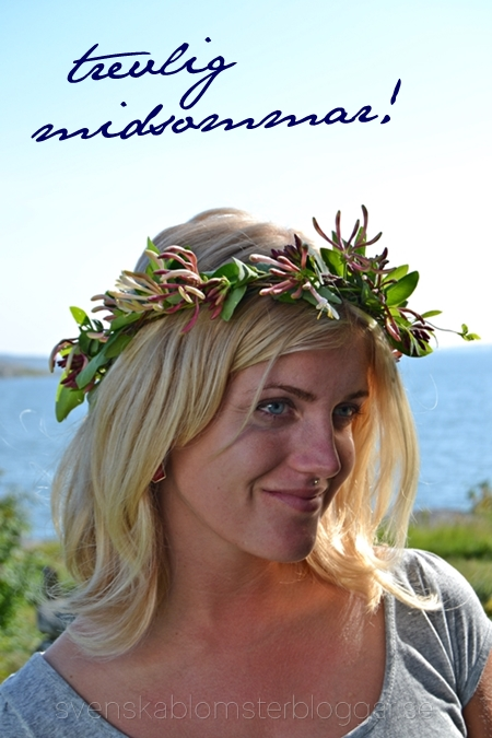 hur gör man enkel midsommarkrans, midsommarkrans, midsommarkrans för latmaskar, midsummer halo, midsummer wreath, how to make an easy midsummer halo
