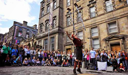 Edinburgh Fringe Festival, Edinburgh, Scotland