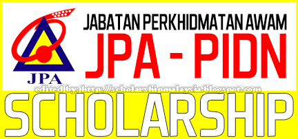 JPA Scholarship for Local Degree Courses | Biasiswa JPA PIDN