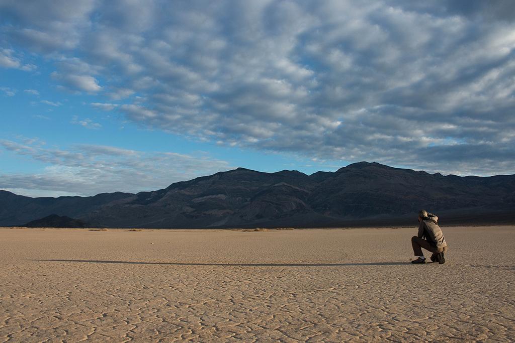 Playa in Panamint Valley