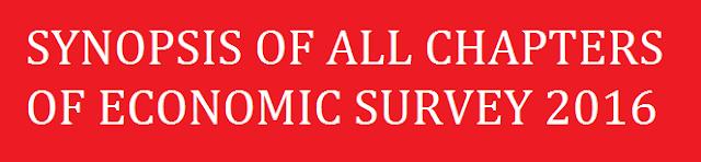 Economic Survey 2016