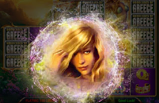 Blonde goddess from Goddesses of Greece game