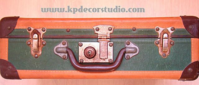 kpdecorstudio. comprar maleta antigua segunda mano. Decorativa y barata, años 60, 70, 80
