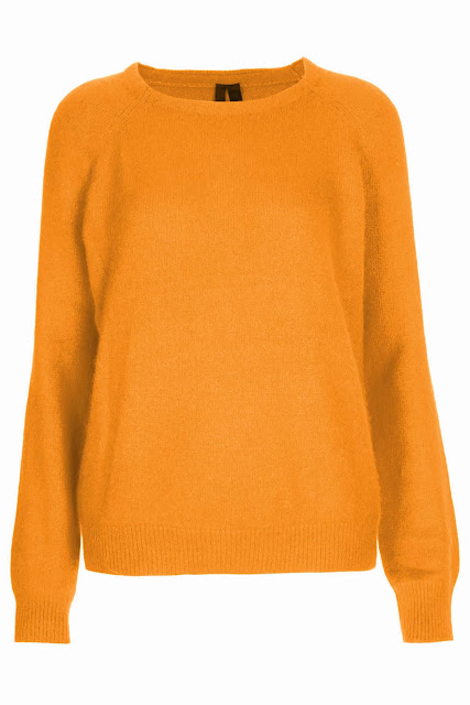 orange angora jumper