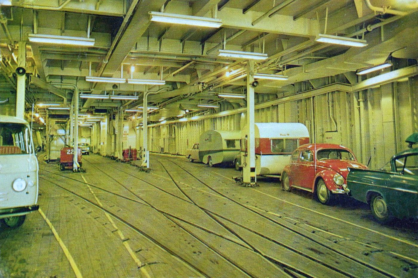 Interior hold of the GMV Aramoana