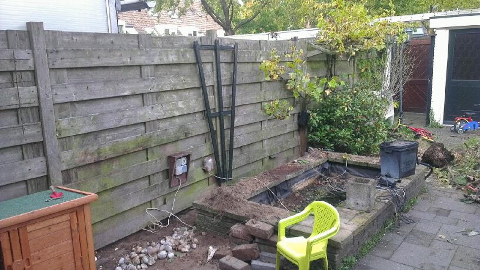 Renske creatief granny 39 s en de tuin verbouwen for Tuin verbouwen