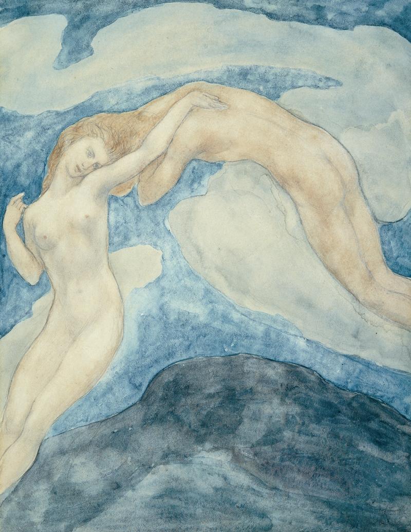 Kahlil Gibran 1883-1931   Painting