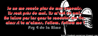 Belle image couverture facebook citation rap