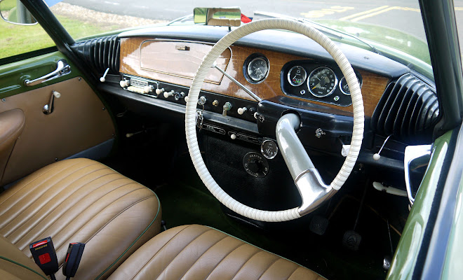 Citroen ID 19 dashboard