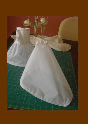 vestidos para muñeca nancy patrones