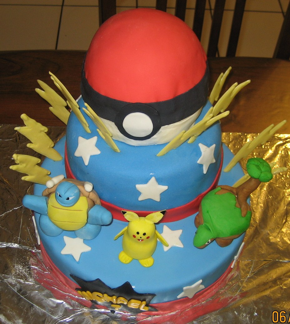 pin pokemon birthday theme cake decorating community cakes we http cake on pinterest. Black Bedroom Furniture Sets. Home Design Ideas