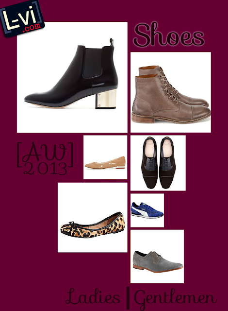 AW13 Shoes for me and for him / L-vi.com