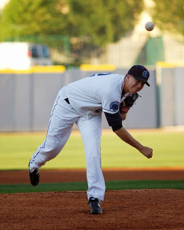 baseball, pitcher, d.j. brown, lake county captains