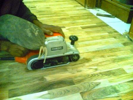 mini flooring jati