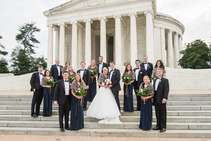 Jefferson Memorial - DC Wedding Photography