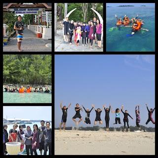 paket wisata outbound pulau harapan