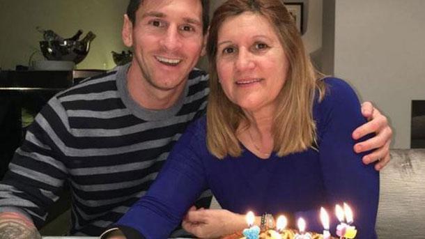 Messi manda un especial mensaje de cumpleaños a su madre