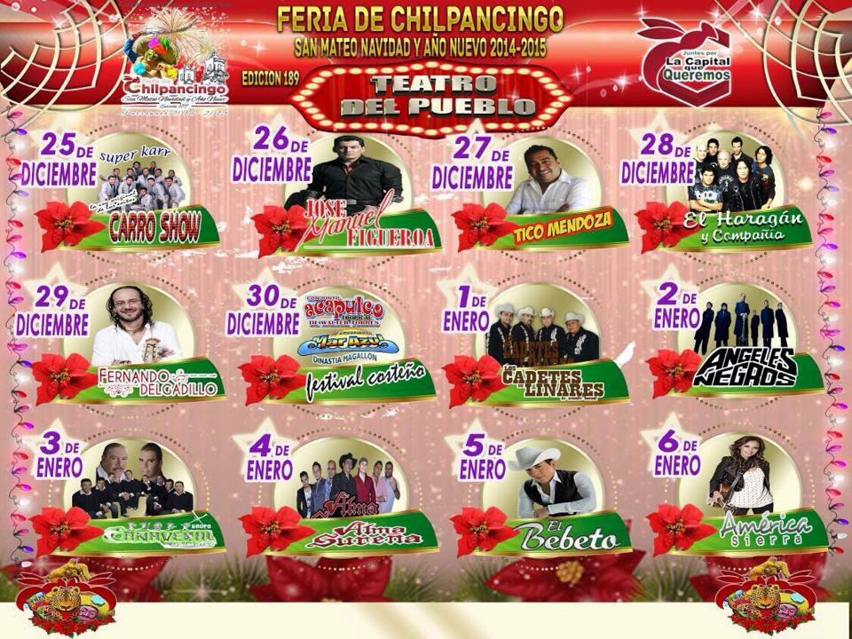 Feria de Navidad y año nuevo