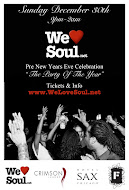 We Love Soul Pre-NYE Celebration
