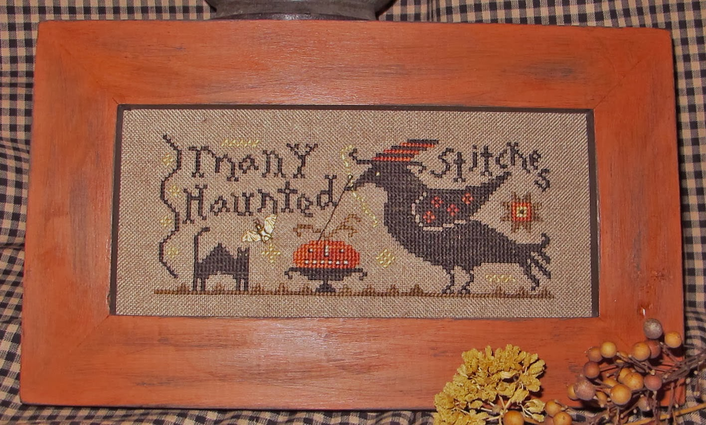 MANY HAUNTED STITCHES