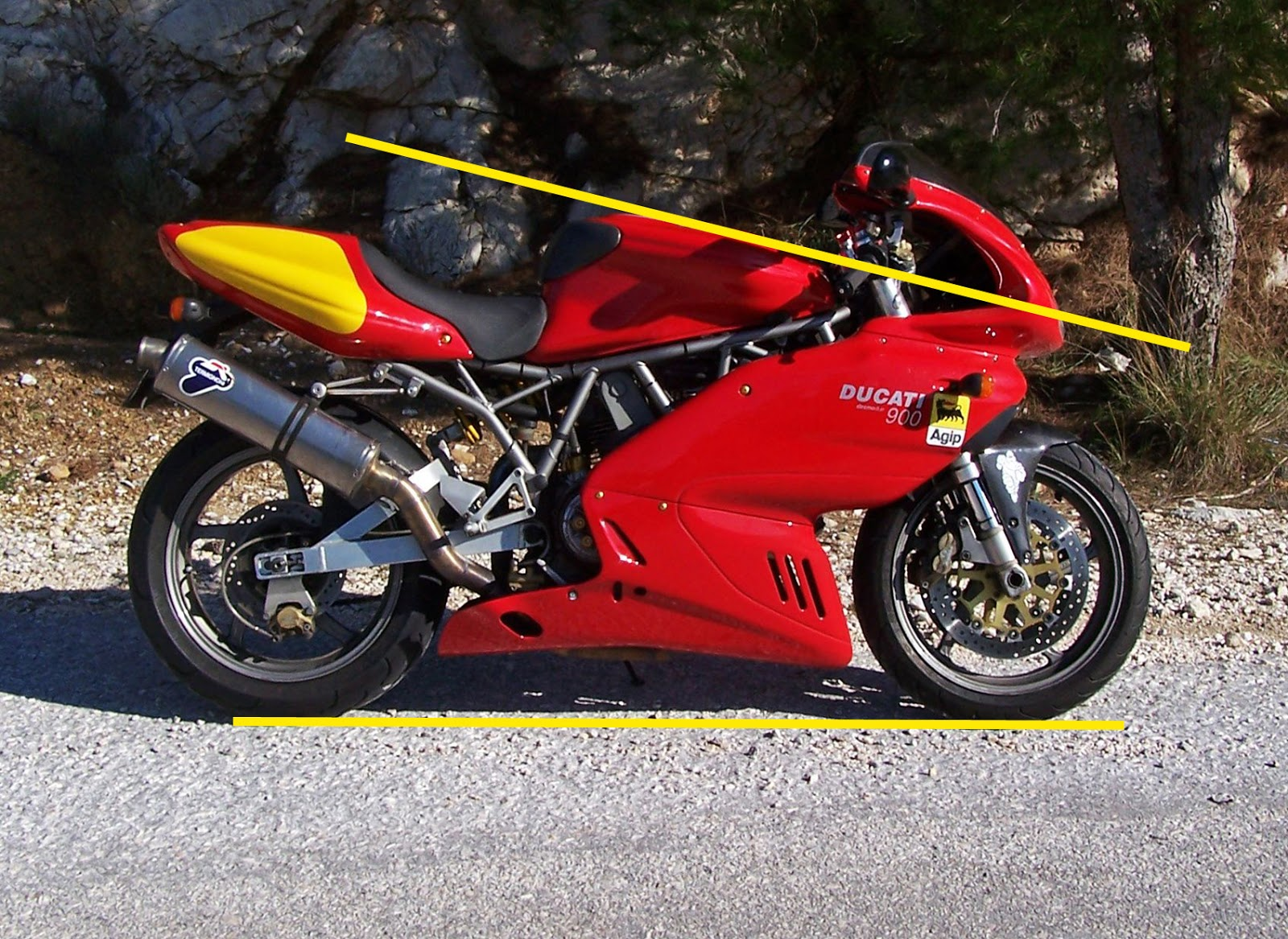 Ducati Tifoso The Ssie Cafe Racer Project