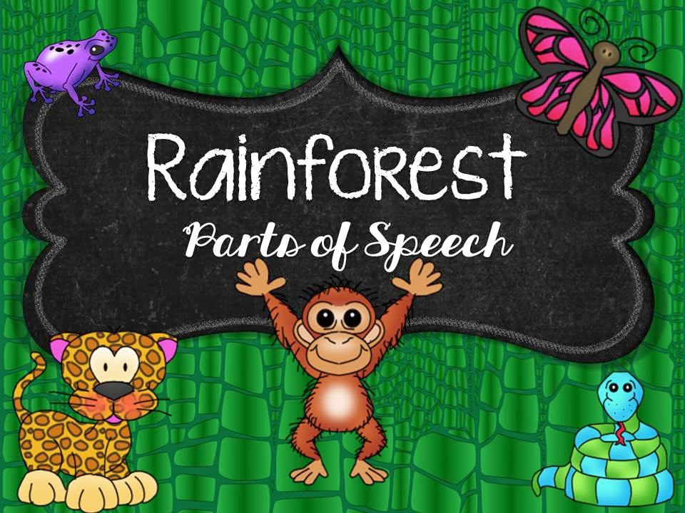 http://www.scribd.com/doc/50412492/Rainforest-Parts-of-Speech-Sort