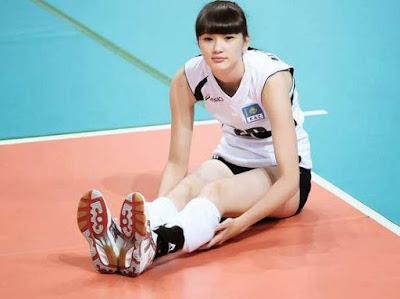 Sabina Altynbekova Pemain Voli Paling Cantik dan Seksi