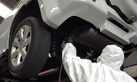 UnderBody Coating for New Cars necessary