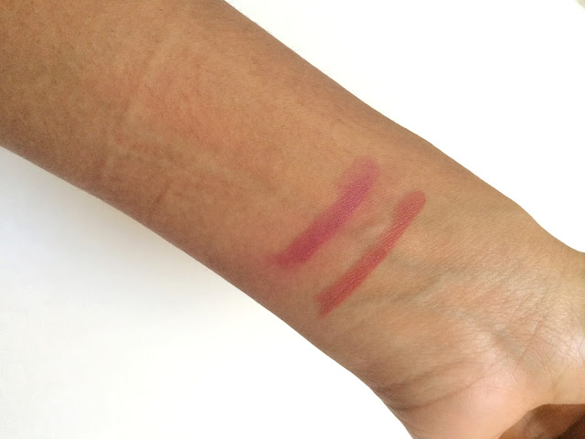 Swatch of Colourpop Cosmetics Lipsticks