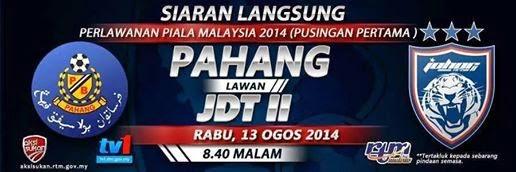 Pahang vs JDT II