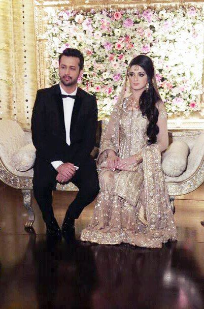 pakistancelebrities.blogspot.com - Atif Aslam With Sara Shadi Pictures Album 9