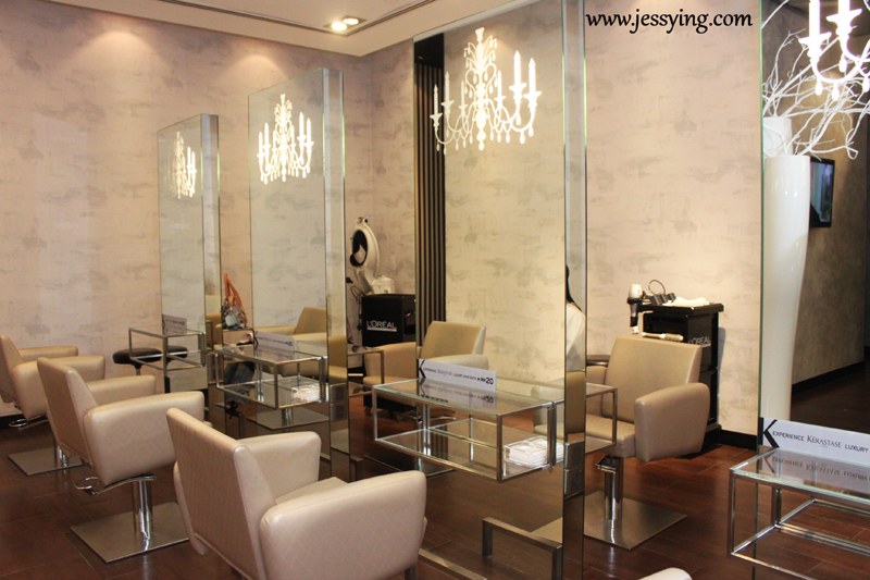Jessying malaysia beauty blog skin care reviews make for Salon kerastase