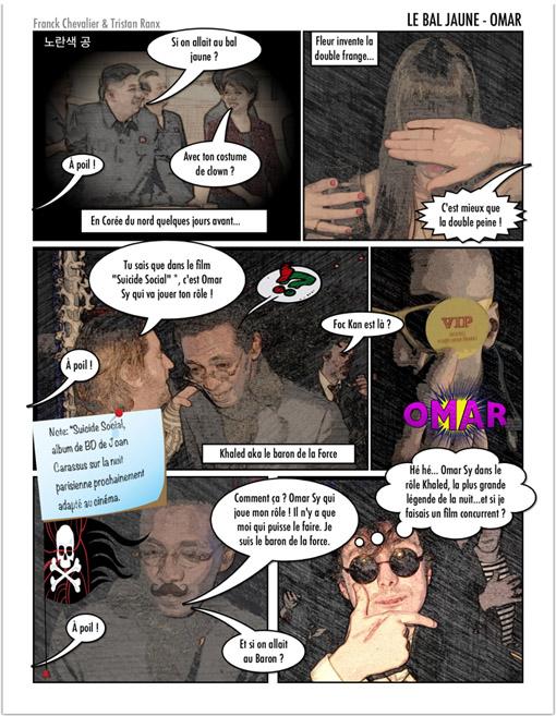 bande dessinee bal jaune ile seguin franck chevalier knighttristan ranx fiac beaux arts magazine 2012 lescop