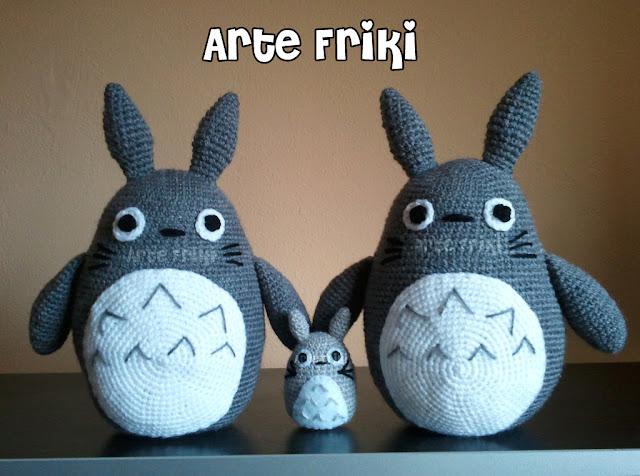 Totoro amigurumi crochet ganchillo doll muñeco peluche plush
