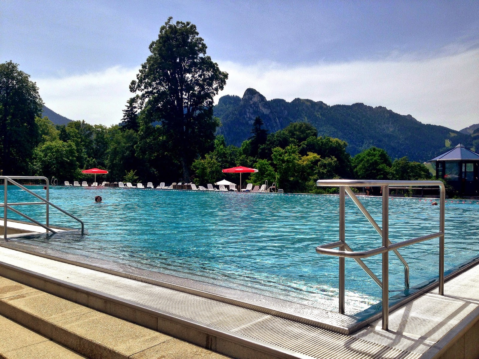The sassy southerner weekend recap swimming in bavarian for Schwimmbad oberammergau