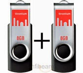 Buy Strontium two 8 GB pendrive at Rs.451 only (Set of 2)